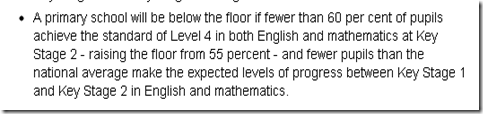 Primary school floor level