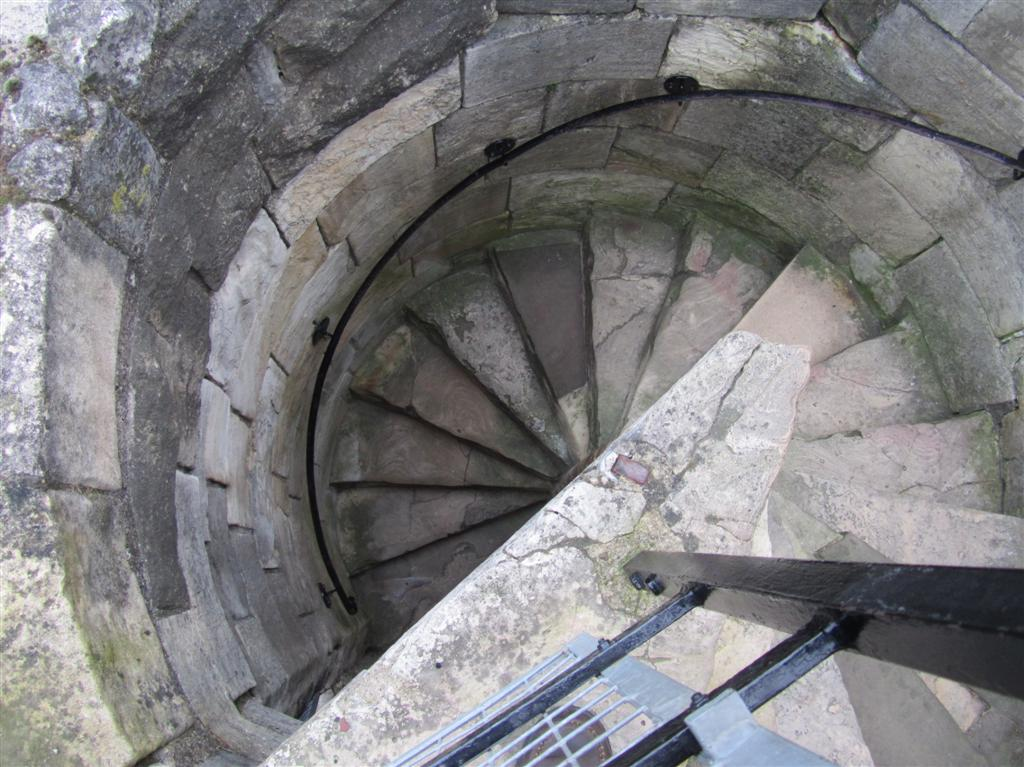 Spiral staircase york castle